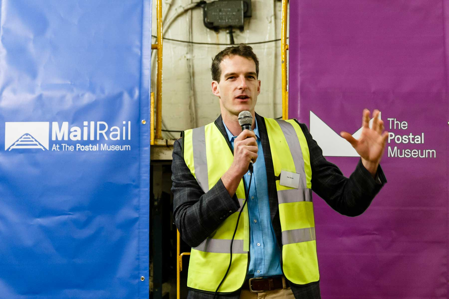 Dan Snow explains why Mail Rail is important to him
