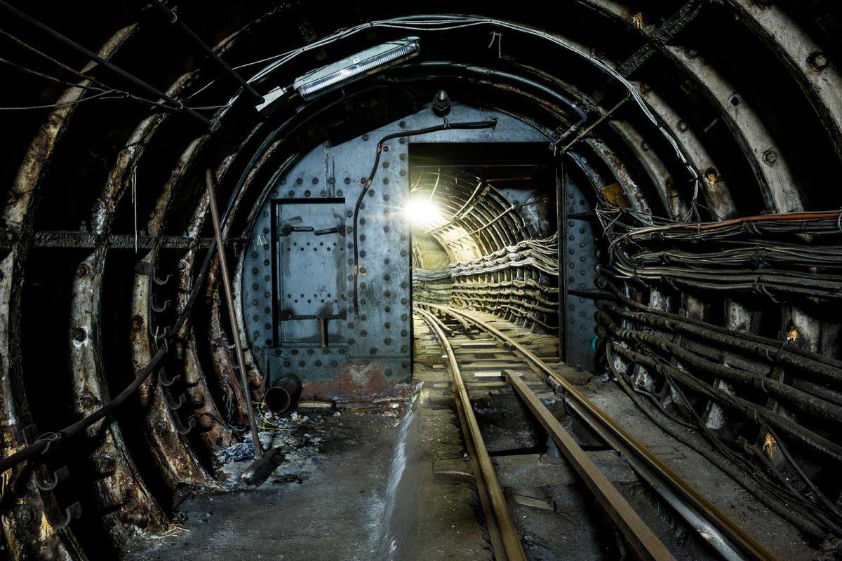 Floodgate in Tunnels-under Mount Pleasant