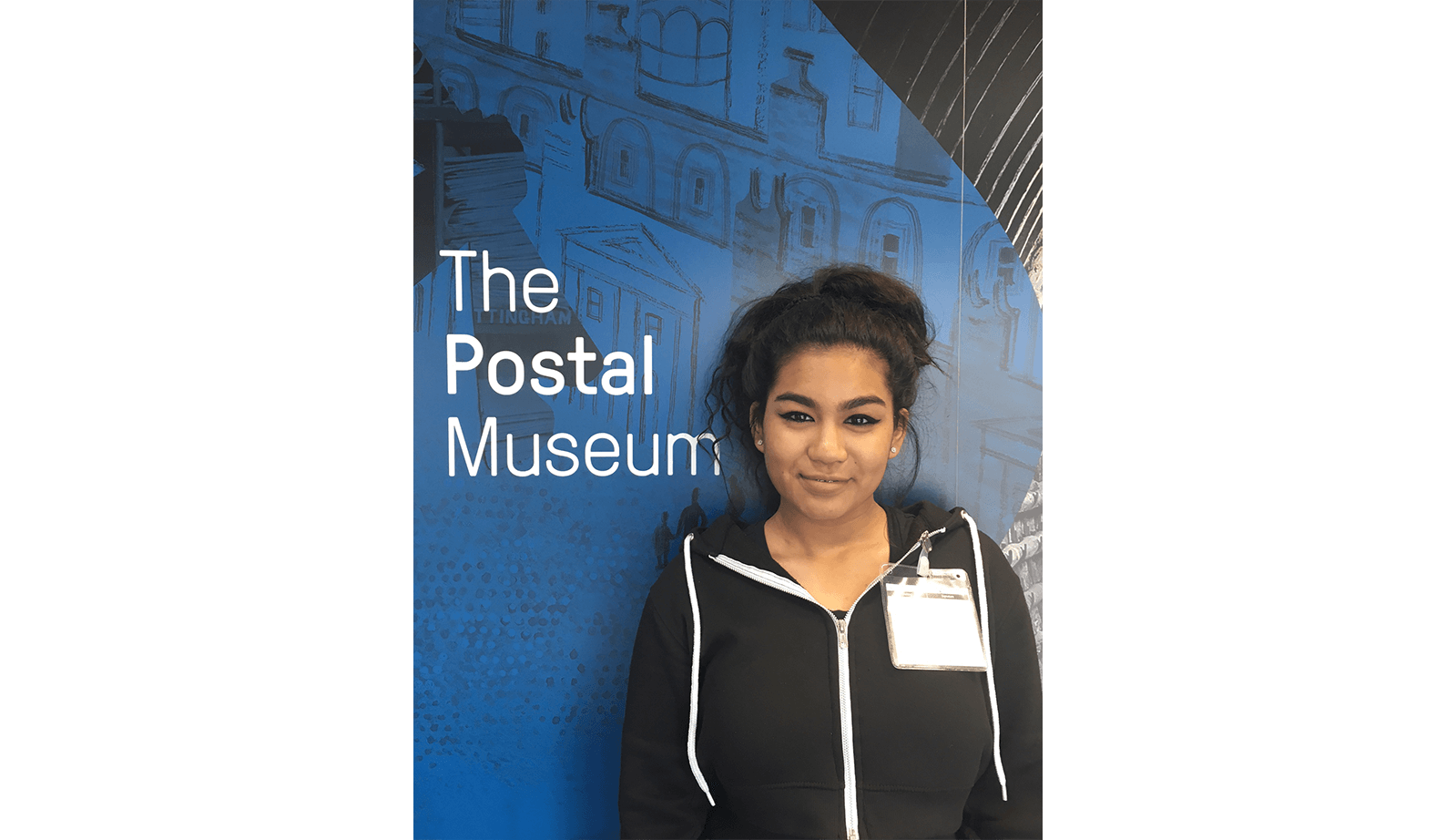 Leanna at The Postal Museum