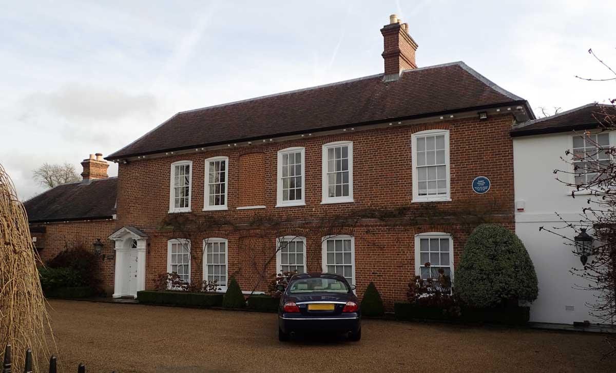 Fanny Trollope's house
