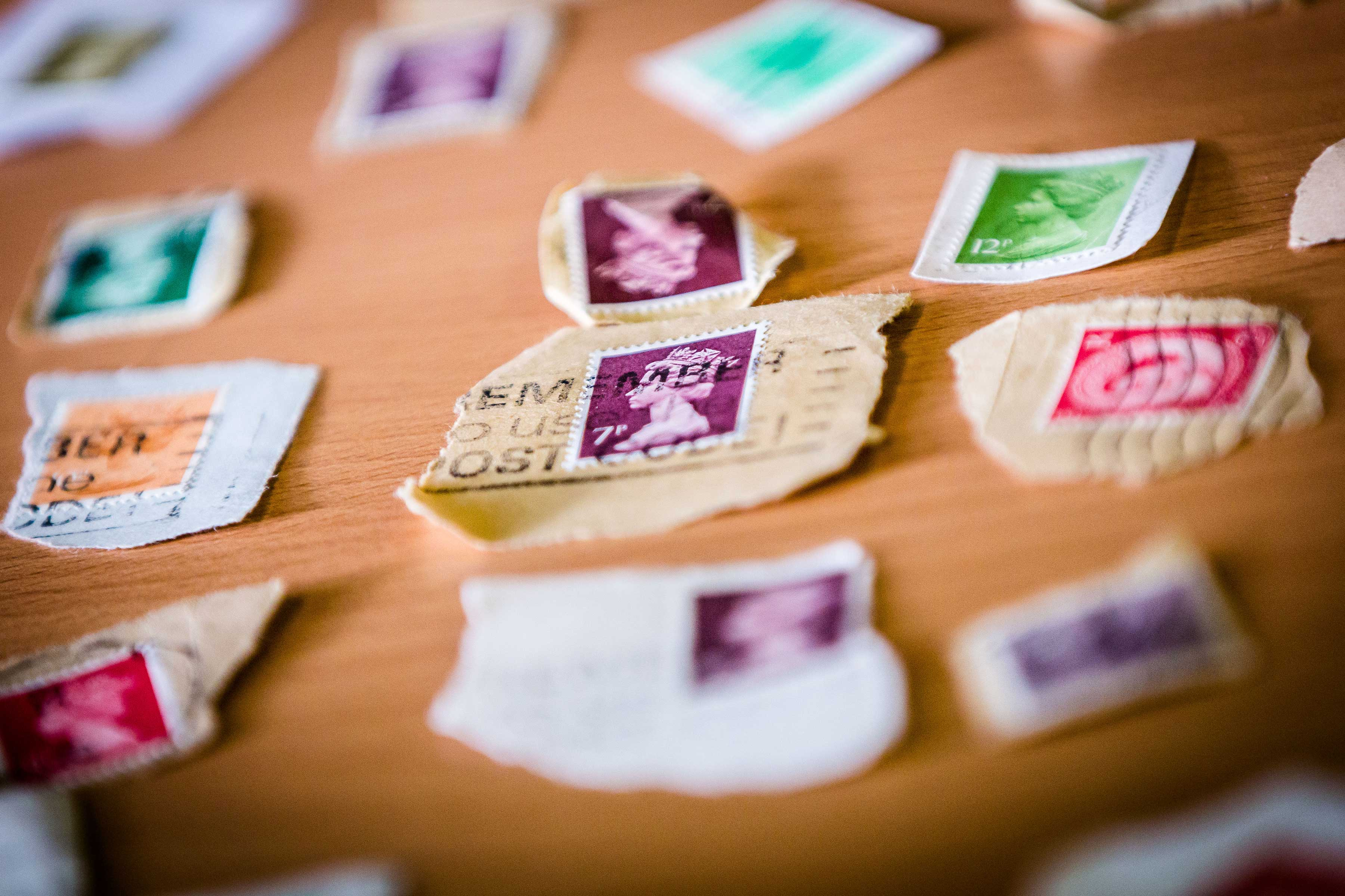 A selection of stamps