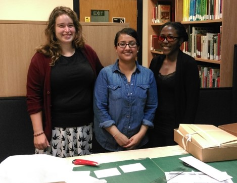 Three of our Archive volunteers
