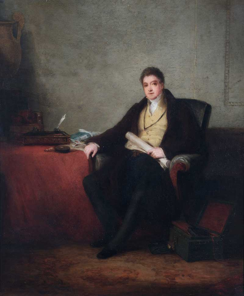 Painting of Sir Francis Freeling, c. 1830