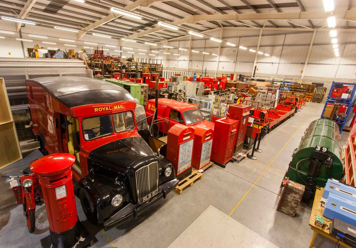 Vehicles and other assorted items from the Museum Collection in our store at Debden