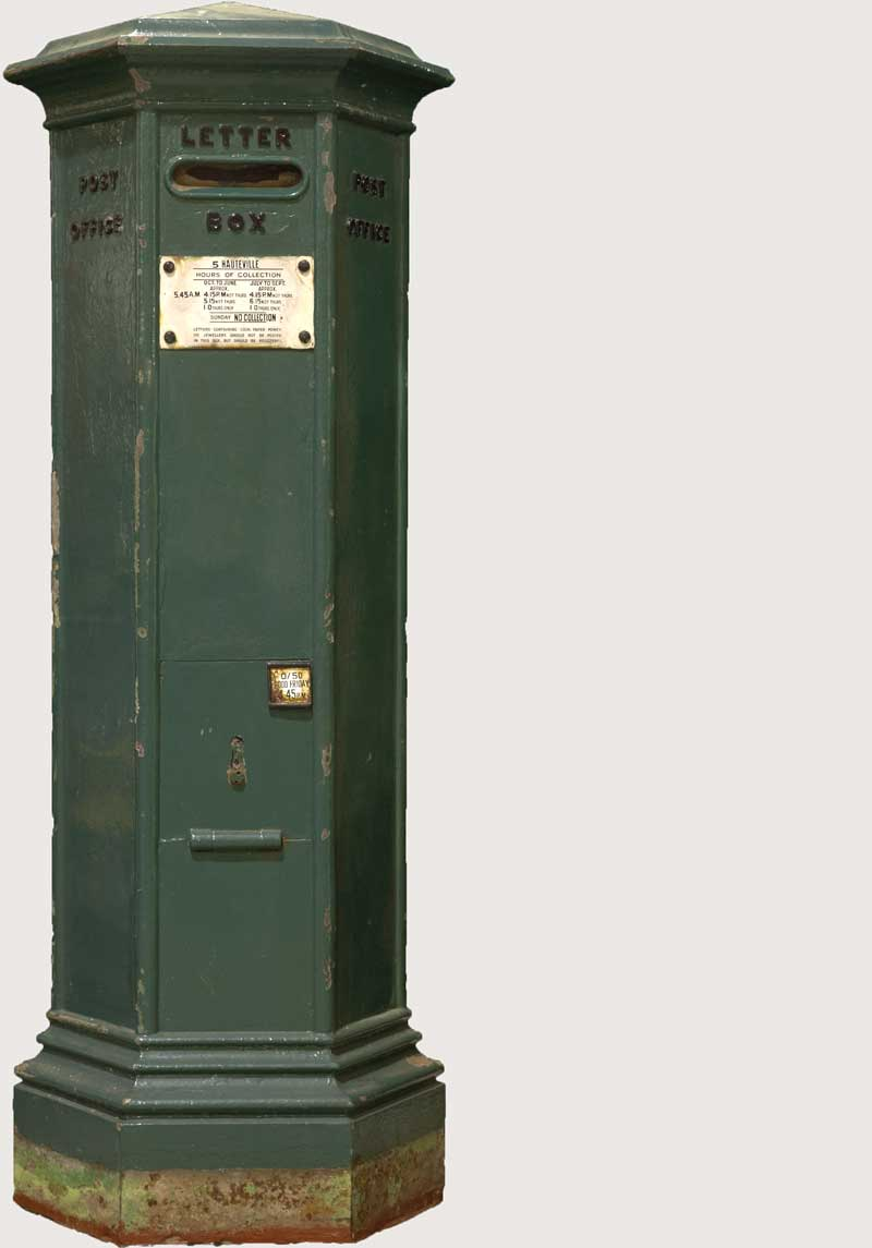 Channel Islands Pillar Box c.1853