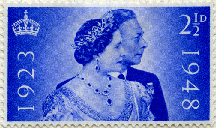 2½d issued stamp