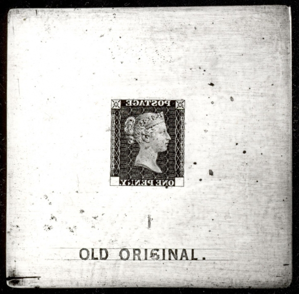 Old Original Die (Penny Black)