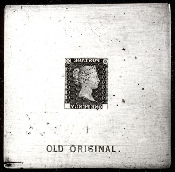 Old Original Die (Penny Black)