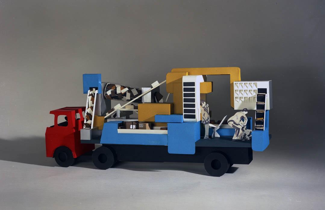 Postal mechanisation float