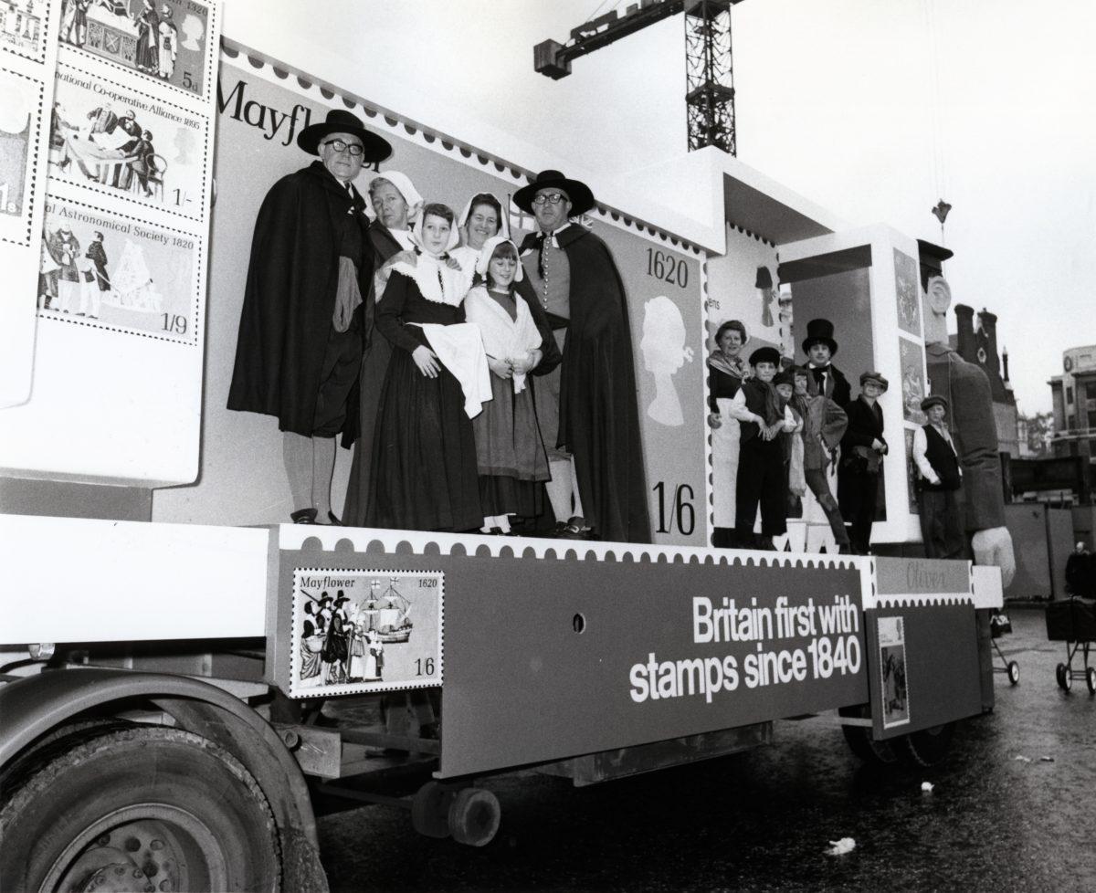 Philatelic float, Lord Mayor's Show, 14 Nov 1970