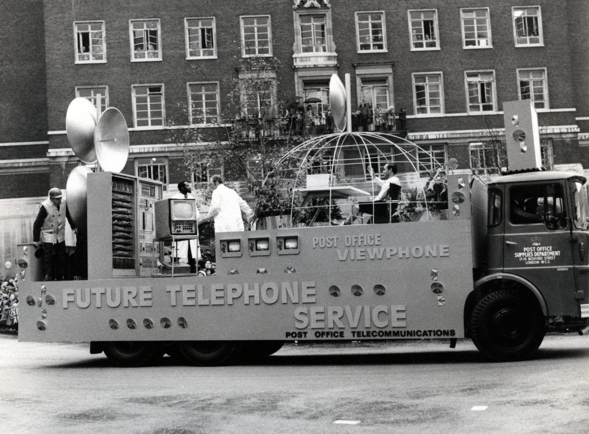 Future of the telephone service float, Lord Mayor's Show, 14 Nov 1970
