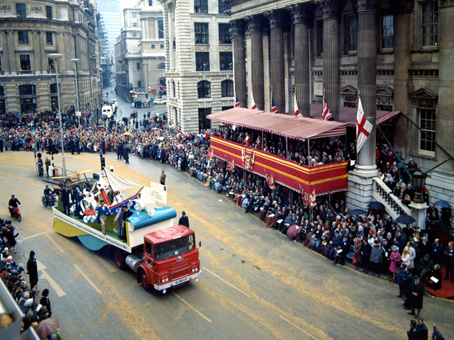 Lord Mayor's Show, 14 Nov 1970