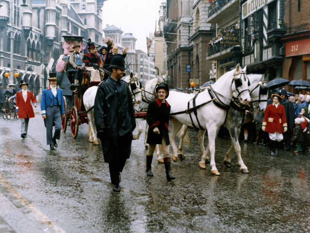 Mail coach in the Lord Mayor's Show, 14 Nov 1970