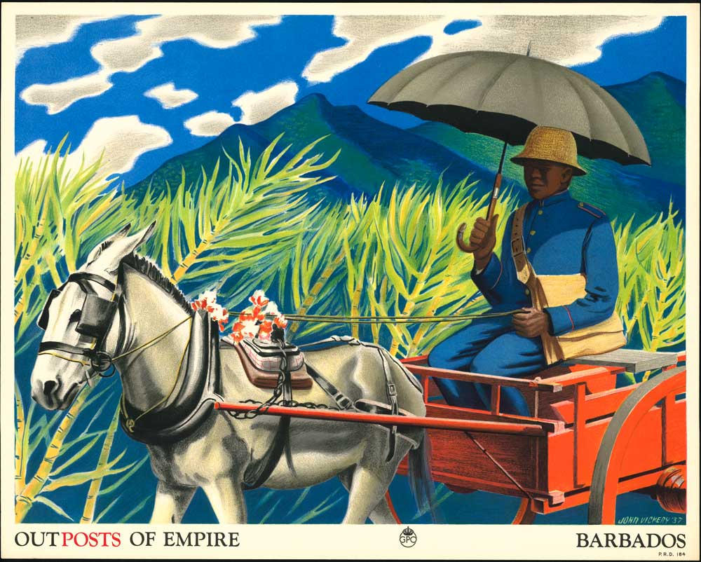 'Outposts of Empire. Barbados' by John Vickery (POST 110/2497)