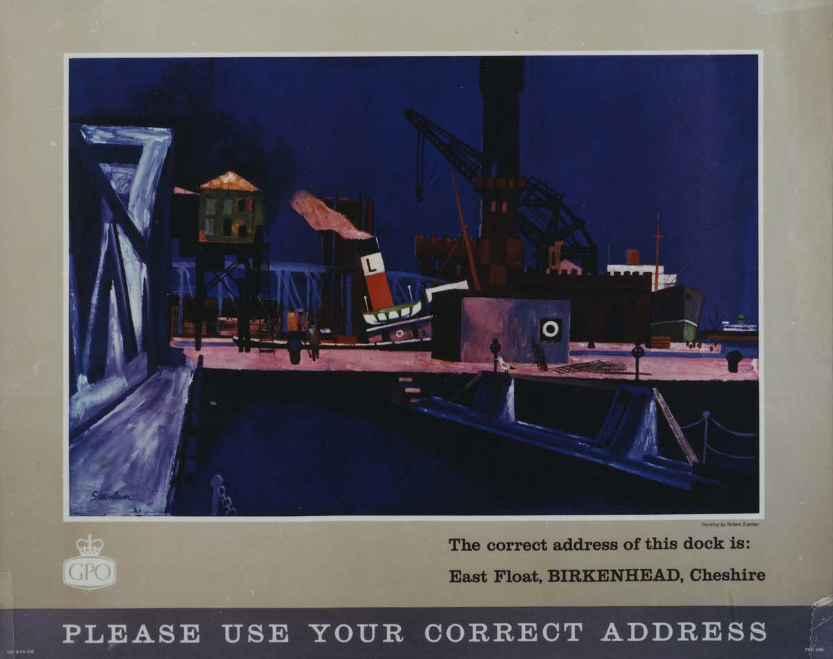 'Please use your correct address' by Robert Scanlan (POST 110/2641)