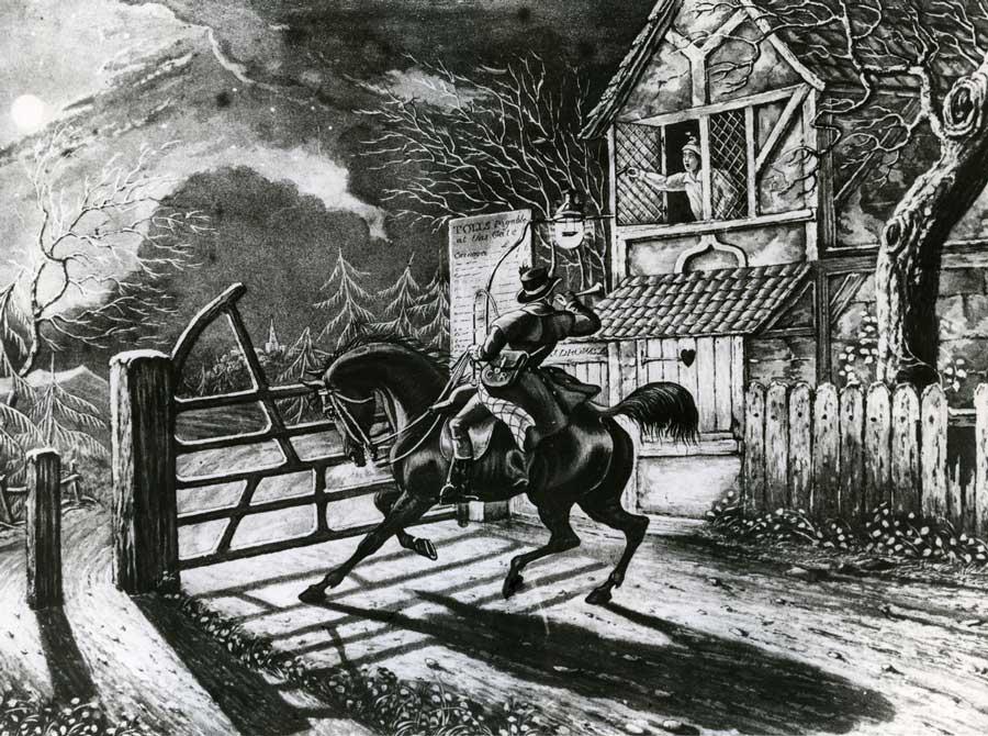 'The Post Boy c.1830', 1946 (POST 118/1723)