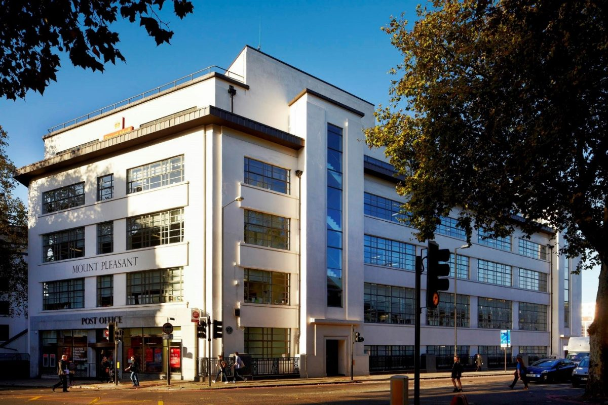 The Mount Pleasant Mail Centre, London