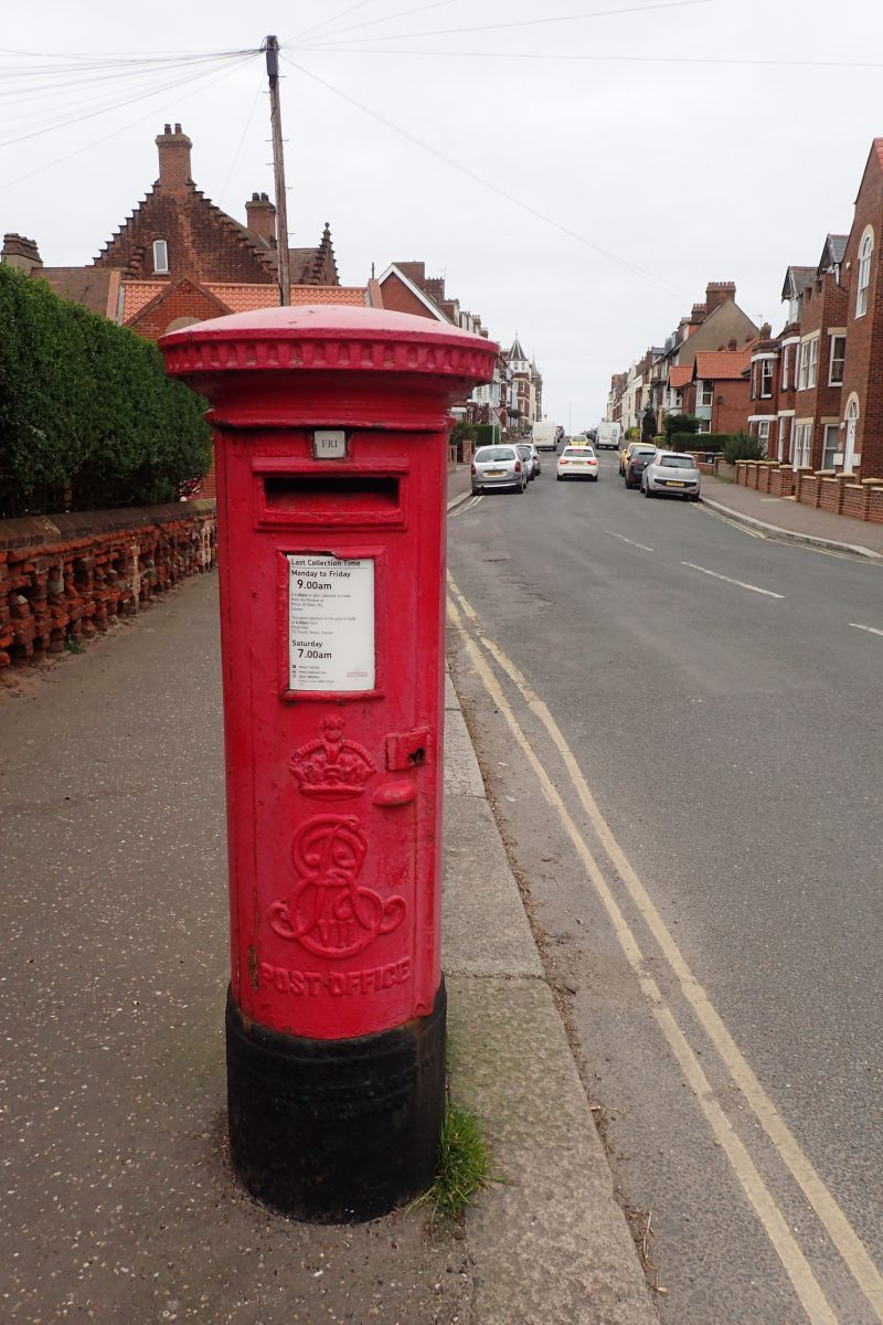 Mc Dowell Steven, B type post box, Cromer