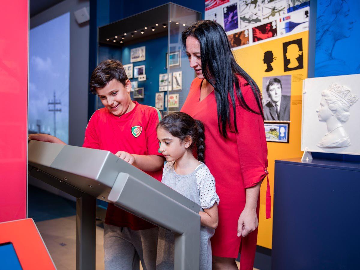 Home Educators at The Postal Museum.