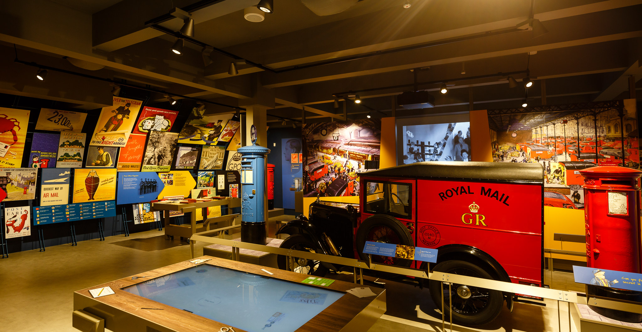 Inside The Postal Museum exhibition