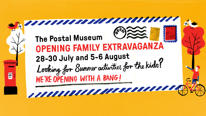 Opening Family Extravaganza at The Postal Museum