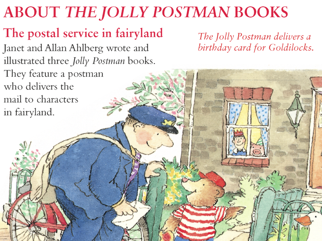 01 about the jolly postman books the postal museum spiritdancerdesigns Images