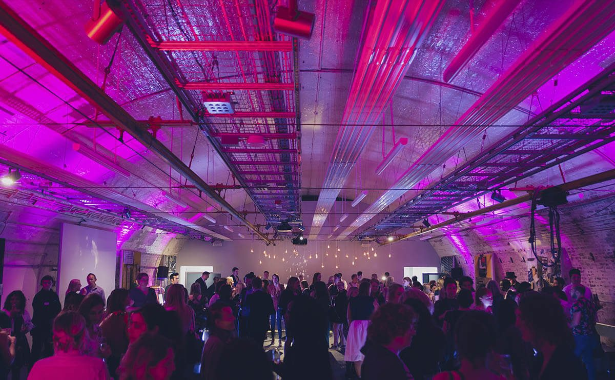 Event venue hire at Mail Rail, The Postal Museum