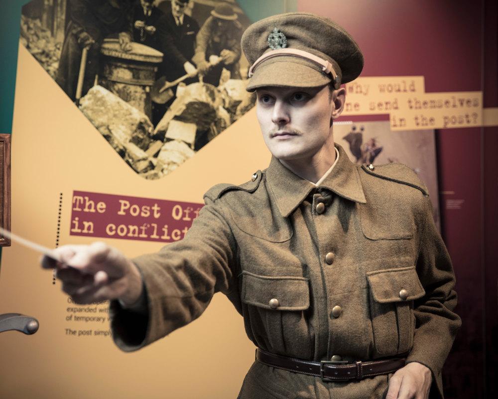 Last Post: The Postal Service in the First World War. KS2/3 workshop