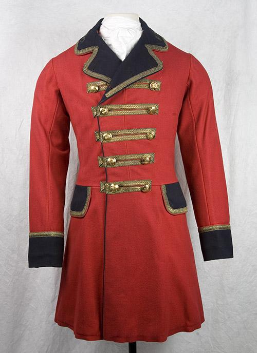 Mail Guard's Frockcoat. Manufacturer: Herbert & Co, London 1875-1882