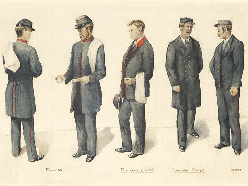 2bae7d22e2b6 Postal uniforms | The Postal Museum