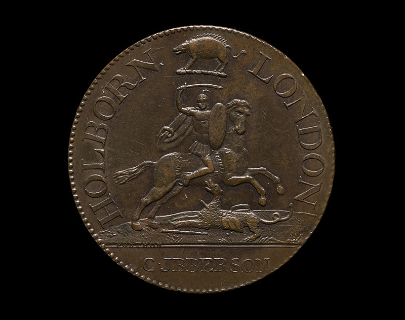 Coaching Inn Token, 1790-1797 (2009-0500/1)