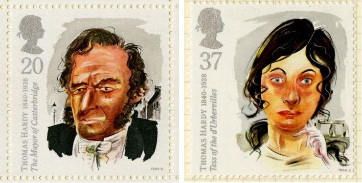 Birth Anniversary of Thomas Hardy stamp