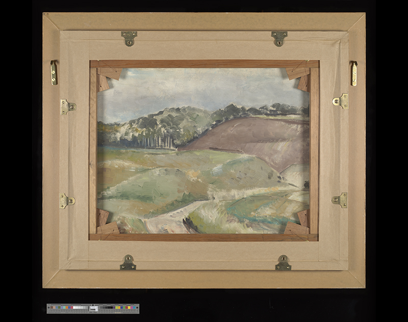 Oil on canvas: Paul Nash, Untitled ('Cloudscape') Verso, 1939 (POST 109/170B)