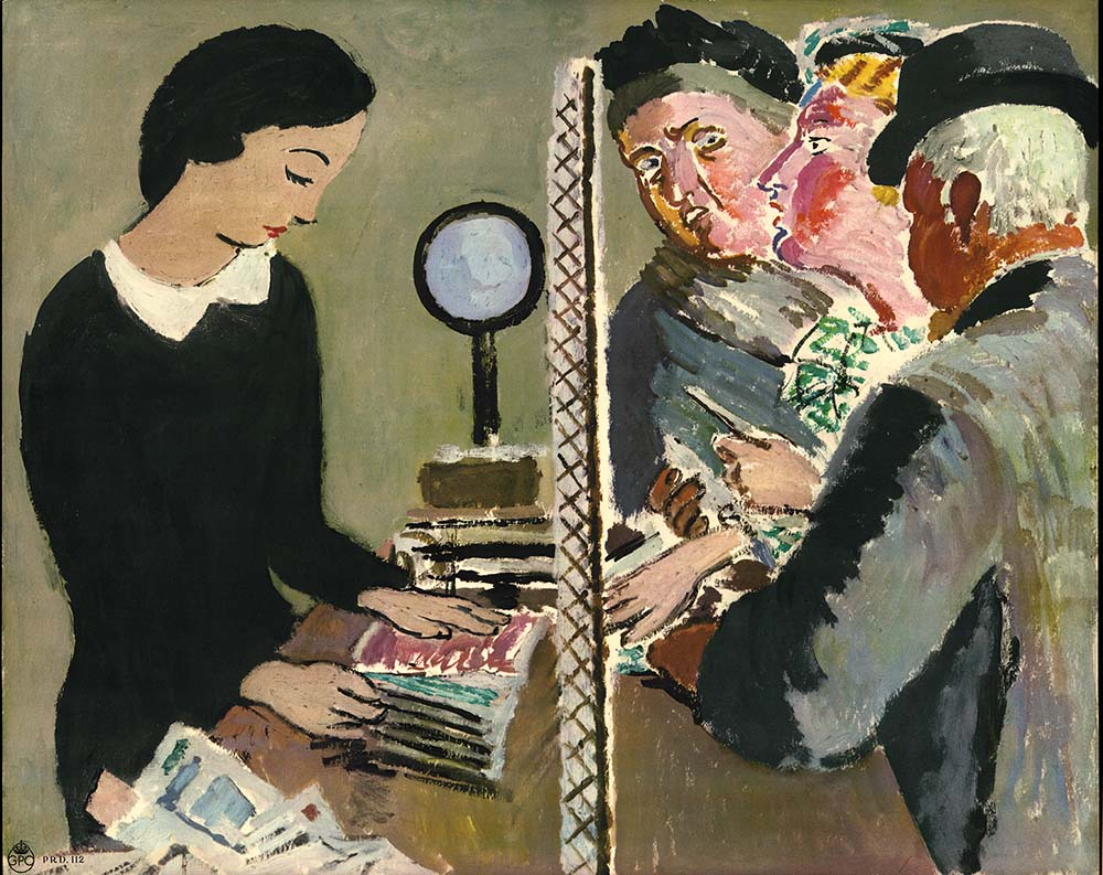 'The Last Minute'. 1935. Poster artwork. Artist: Vanessa Bell. (POST 110/2489)