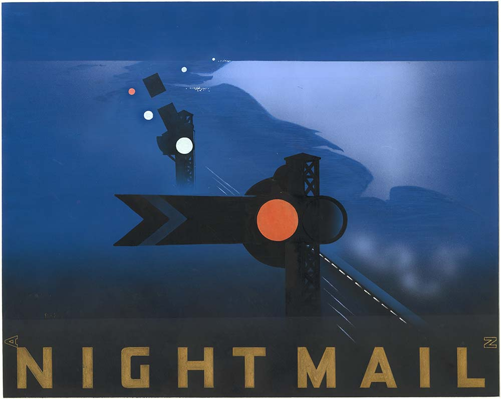 Nightmail Poster artwork by Pat Keely, 1939 (POST 109/377)