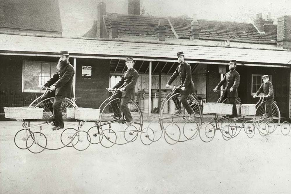 'Horsham Fleet of Centre Cycles', 1882 (2011-0266/17)