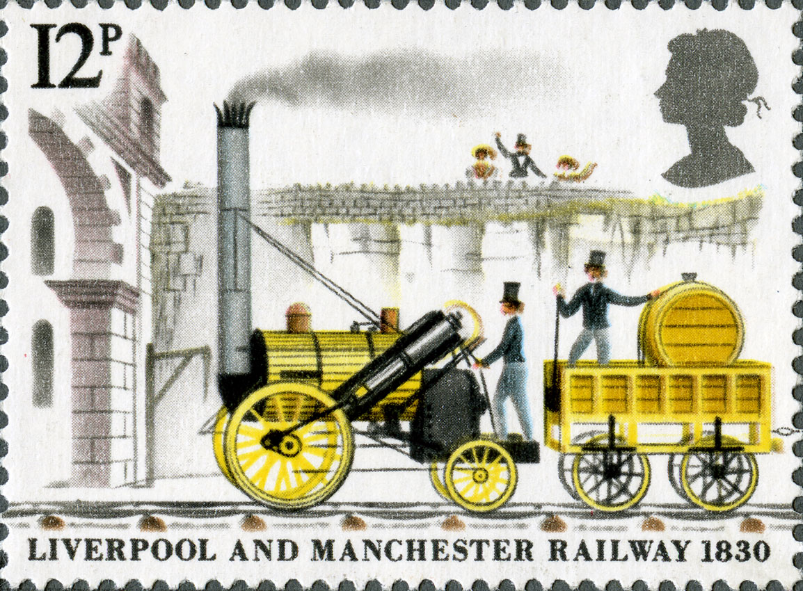 Image depicting a yellow steam engine with carriage.