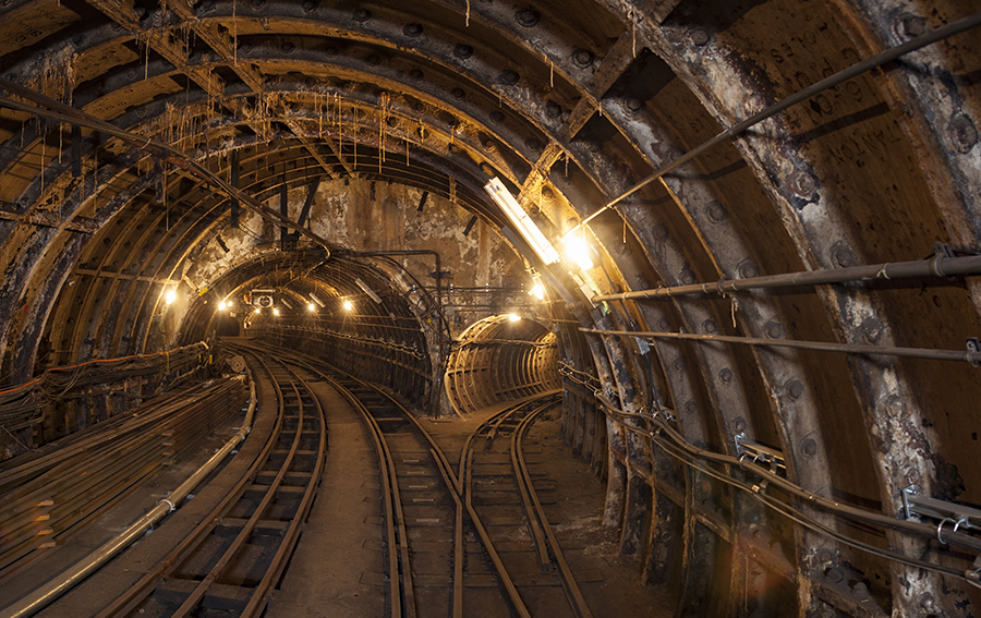 Photo of a tour through the hidden subterranean tunnels of Mail Rail under Mount Pleasant in London