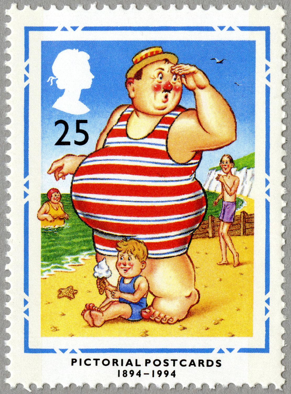 25p, Pictorial Postcards, 1994