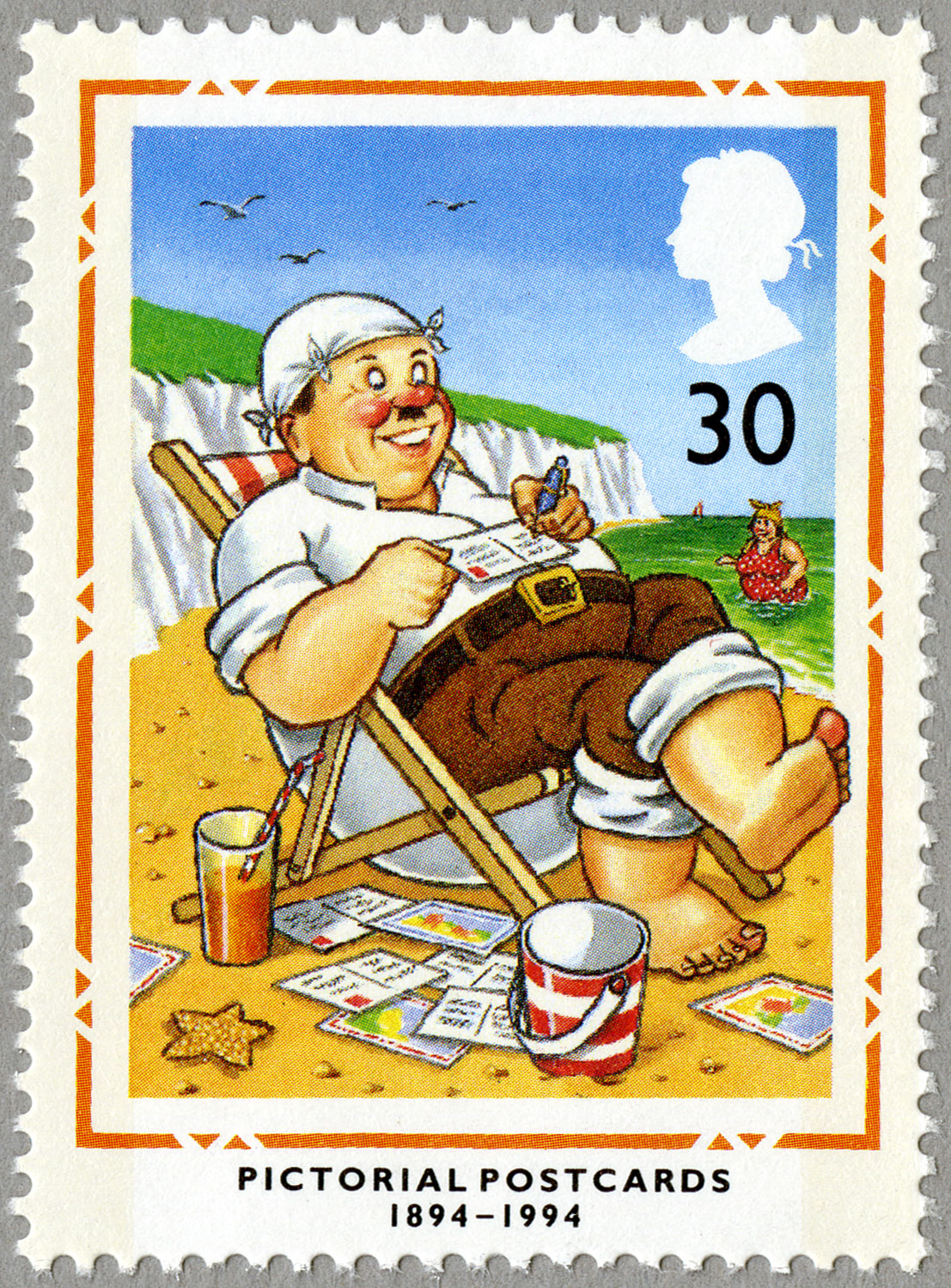 30p, Pictorial Postcards, 1994