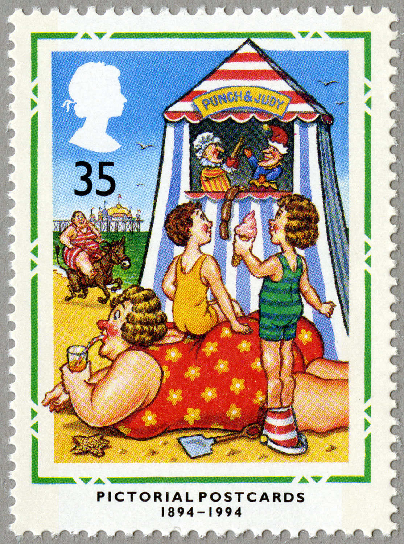 35p, Pictorial Postcards, 1994