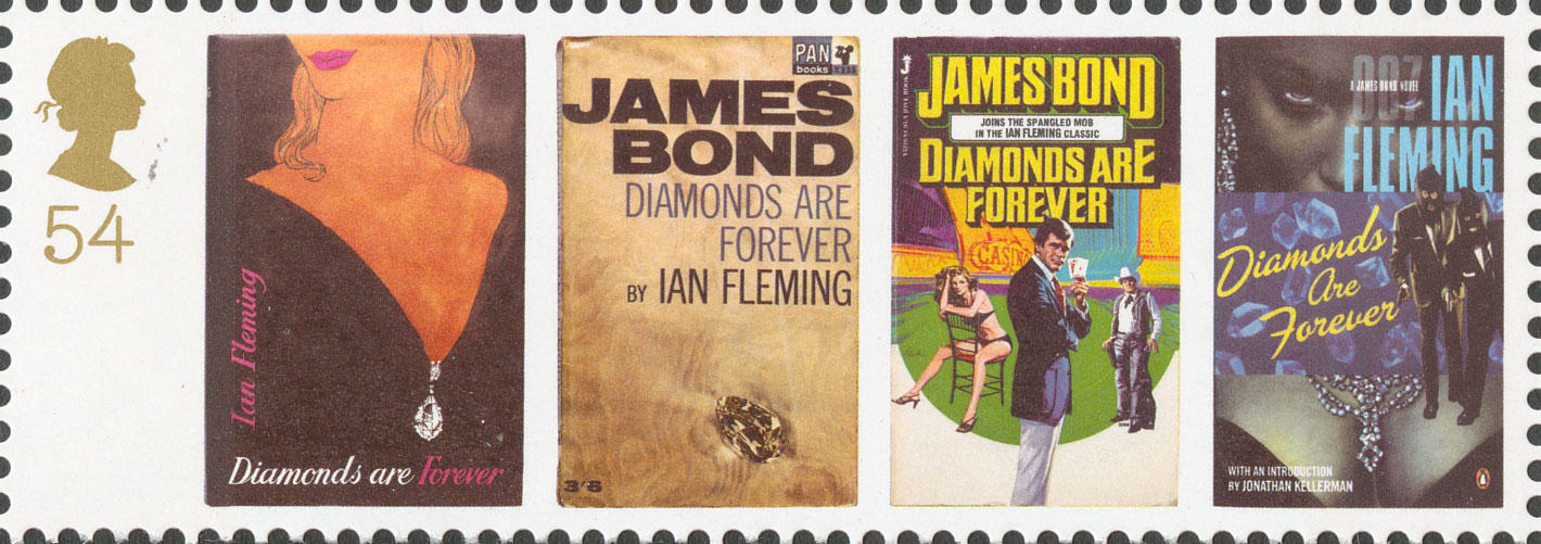 54p, Diamonds are Forever, James Bond, 2008
