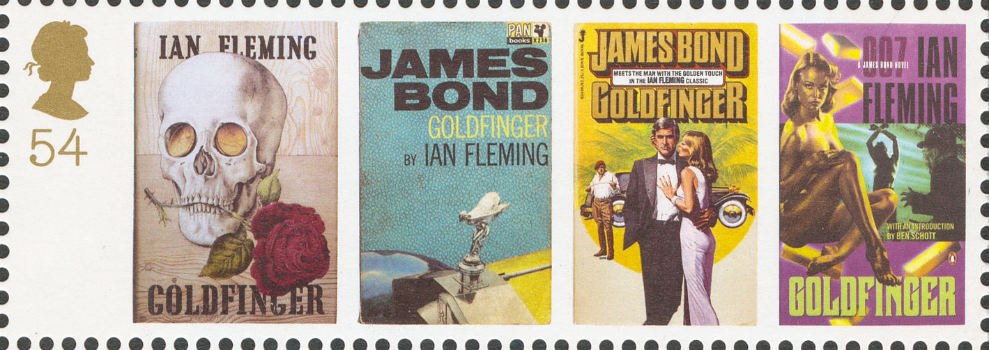 54p, Goldfinger, James Bond, 2008