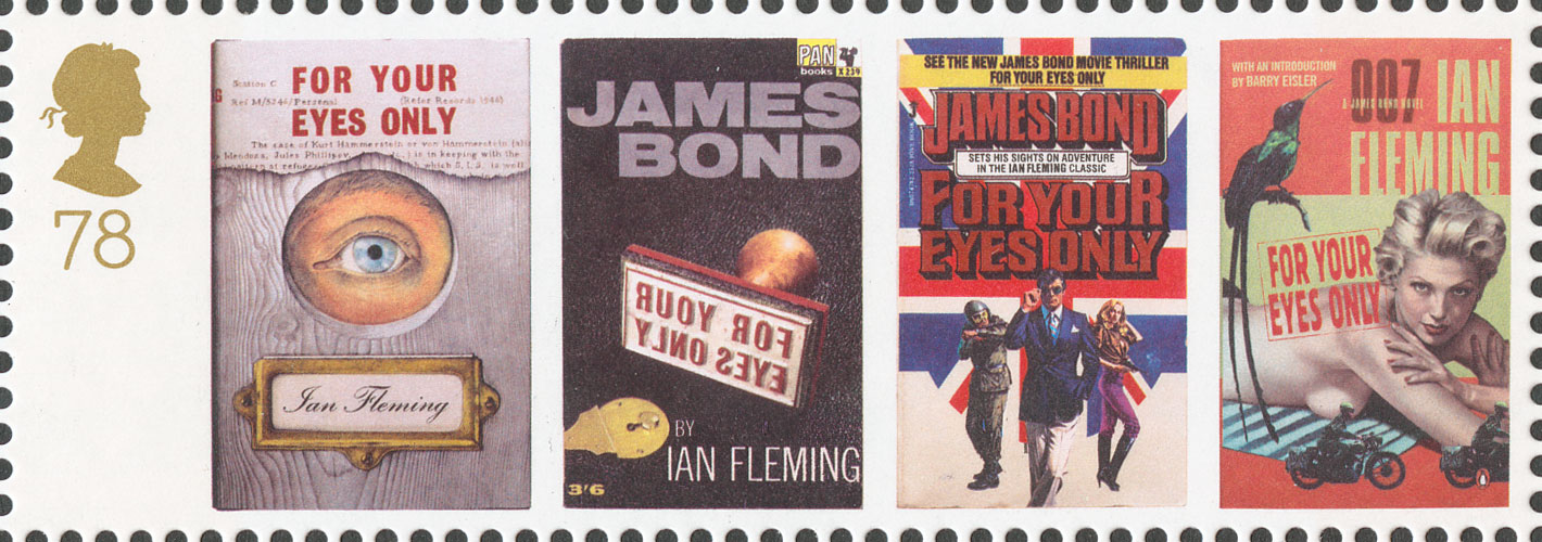 78p, For Your Eyes Only, James Bond, 2008