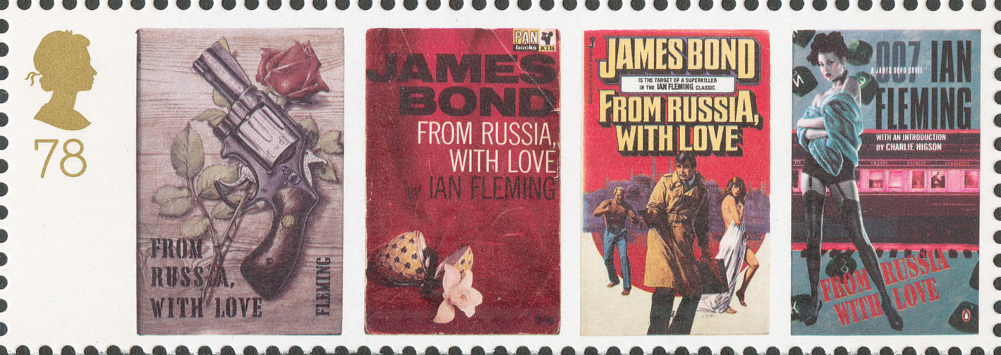 78p, From Russia with Love, James Bond, 2008
