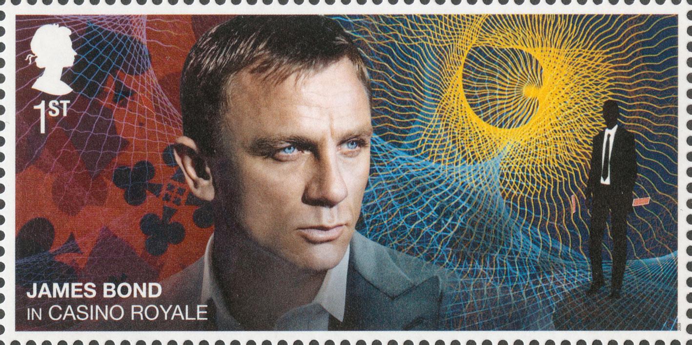 1st NVI, Daniel Craig, James Bond, 2020