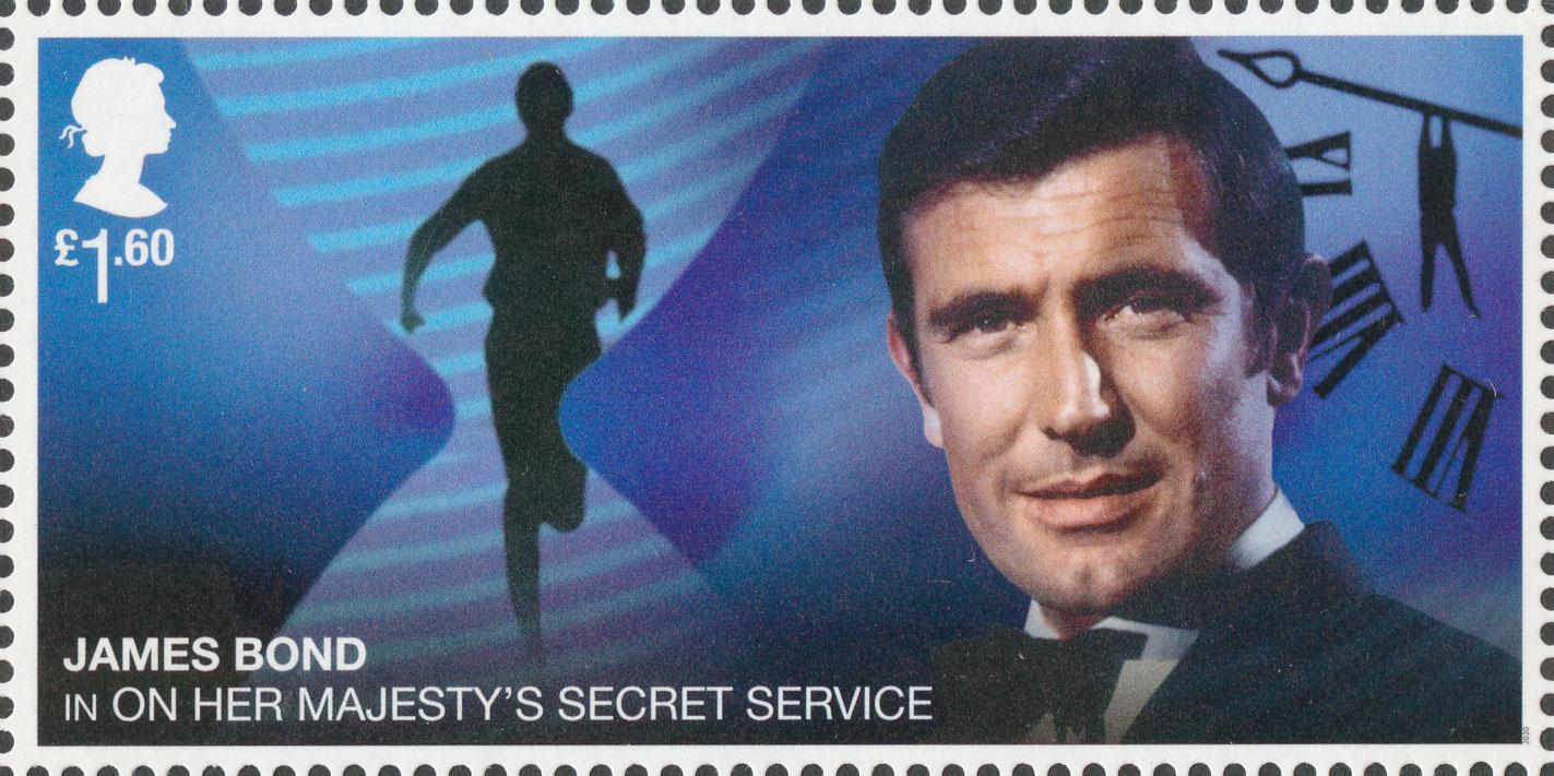 £1.60, George Lazenby, James Bond, 2020