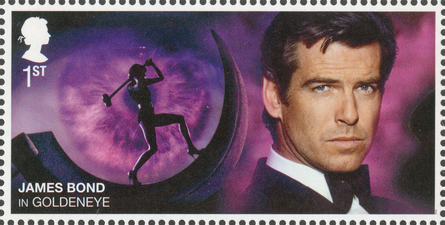 1st NVI, Pierce Brosnan, James Bond, 2020