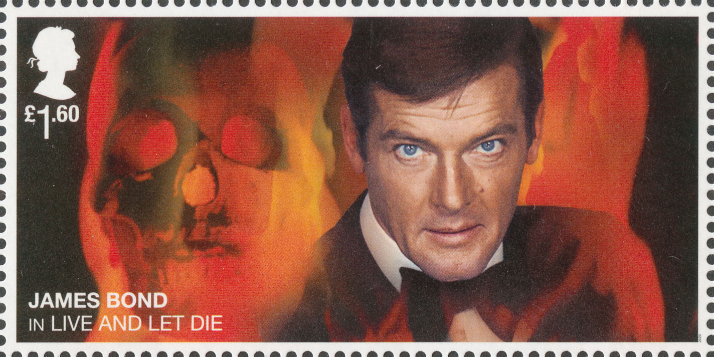 £1.60, Roger Moore, James Bond, 2020