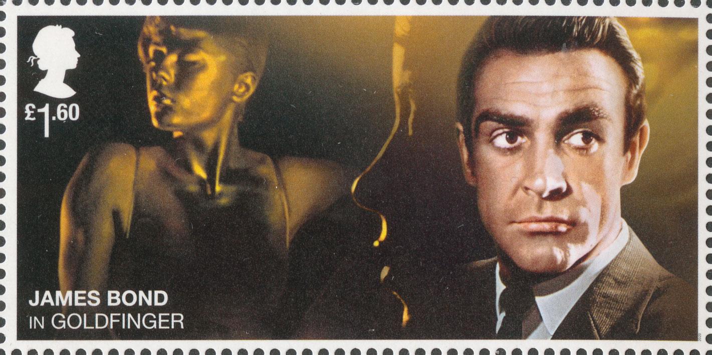 £1.60, Sean Connery, James Bond, 2020